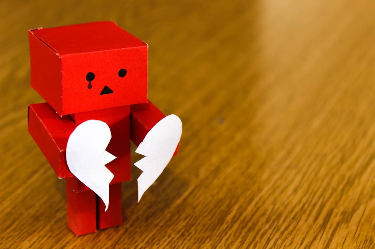 הכאב שבתהליך הגירושין