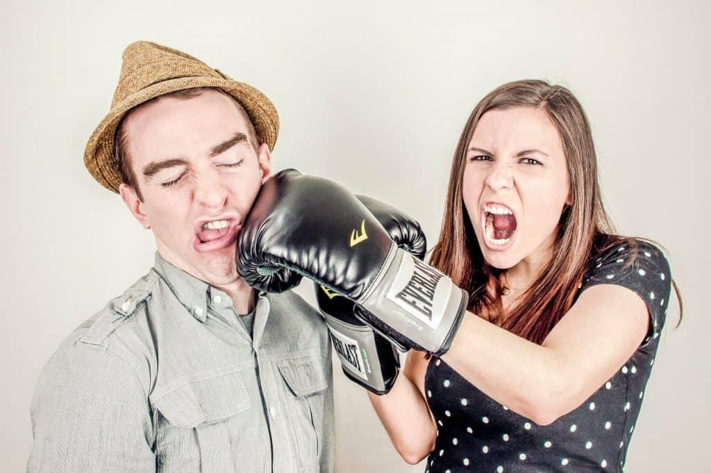 עימות ישיר בין בני זוג לאחר בגידה